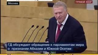 Жириновский о Грузии