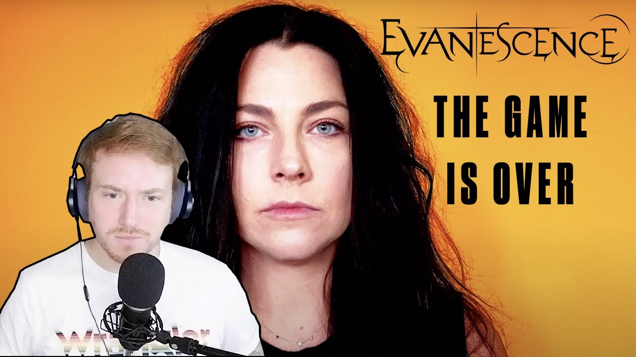 REACTION to EVANESCENCE (The Game Is Over) 🎤🔥🤘