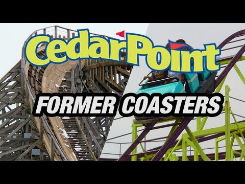 The Former Coasters of Cedar Point!