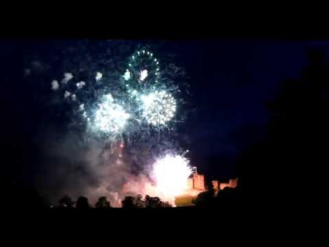Wedding Fireworks, Alnwick Castle: 23/06/13