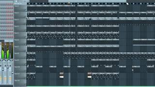 Трек изнутри в FLStudio. Один из проектов.(, 2015-06-26T14:58:40.000Z)