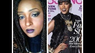 Kelly Rowland Essence Magazine Makeup