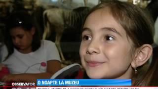 20 de copii au petrecut o noapte la muzeu