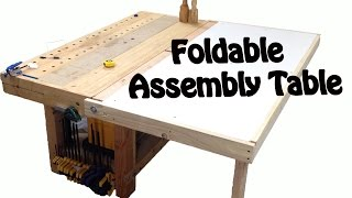 Work Bench Foldable Assembly Table Build