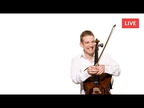 BSO: Johannes Moser Live Cello Masterclass - Elgar & Gulda Cello Concertos, 'Tzig-Tzig' By Squire