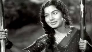 Meow Meow Meri Sakhi - Nimmi, Lata Mangeshkar, Pooja Ke Phool Song