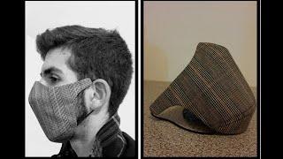 Máscara de Proteção Estilo Alfaiataria