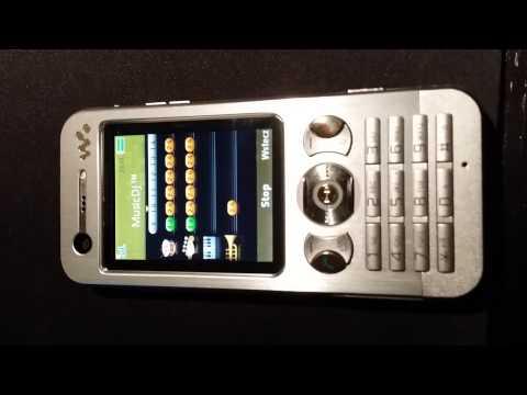 Sony Ericsson w890i MusicDJ