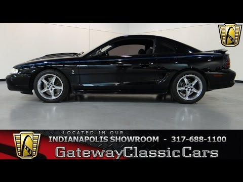 1995 Ford Mustang Cobra SVT - #319-ndy - Gateway Classic Cars - Indianapolis