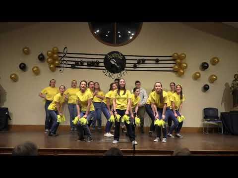 """Cheerleader"" A Cappella Version   Christendom's 2020 A Cappella Competition"