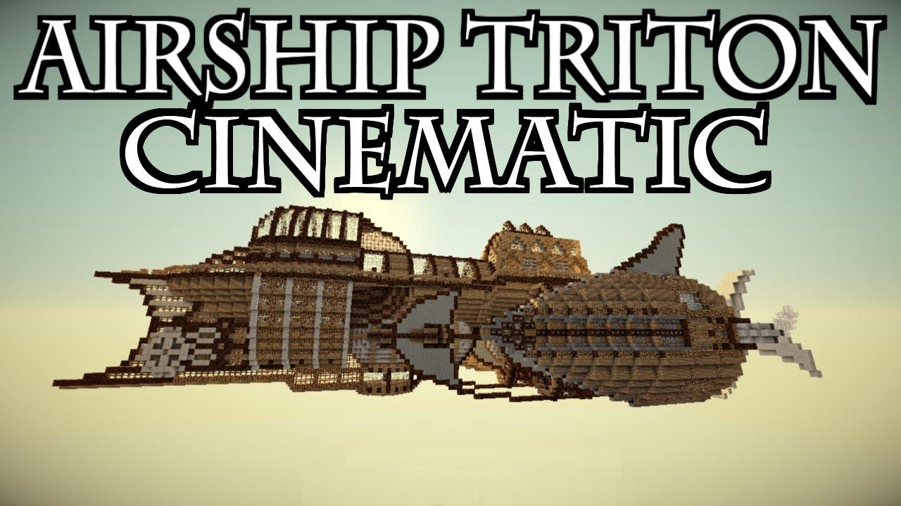 Minecraft Cinematic - Airship Triton - YouTube