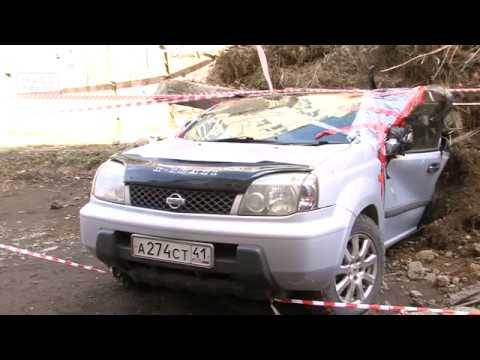 Внезапно – в Петропавловске джип расплющило подпорной стенкой| Новости сегодня | Происшествия