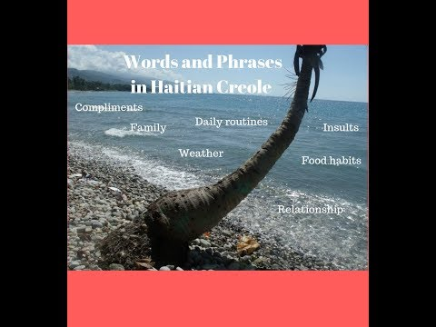 Haitian Creole _ Most Popular Words and Phrases Video 5