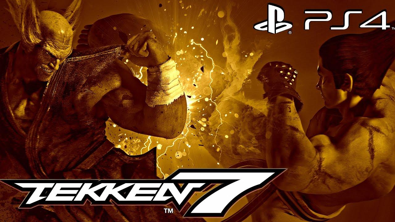 Tekken 7 (PS4) - 1 HOUR of Gameplay + New Rage Arts [1080P 60FPS]