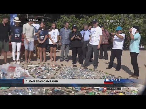 NET. BALI - CLEAN SEAS CAMPAIGN BALI