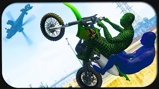 EPISCHE STUNTS in Grand Theft Auto Online!