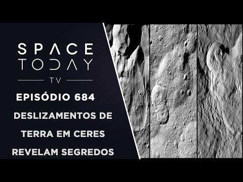 Deslizamentos de Terra Em Ceres Revelam Segredos - Space Today TV Ep.684