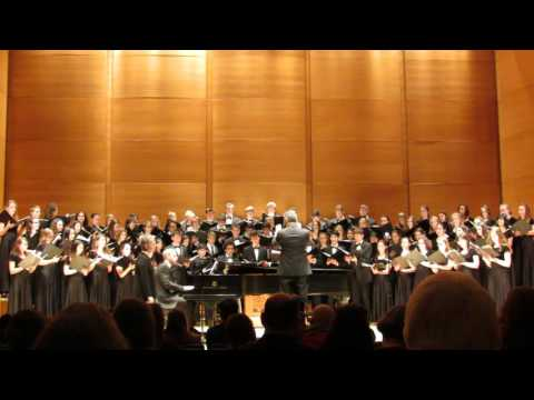 Tufts University Concert Choir and Chamber Singers November 2016 Serenade to Music