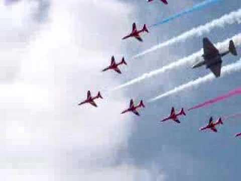 Queen Elizabeth's 80th Birthday Flypast