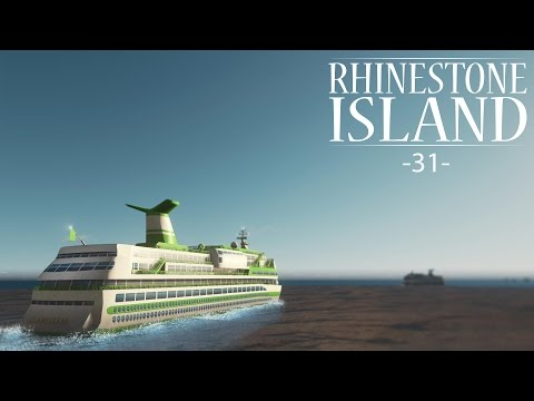 "Cities Skylines - Rhinestone Island [PART 31] ""Marina and Cruise Dock"""