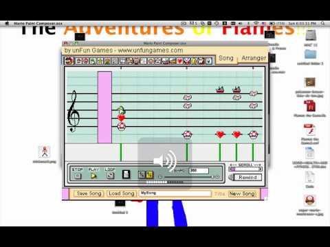 mario paint composer mac
