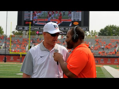 Your Illini Nation Feature: Carey Davis Back On the Sidelines