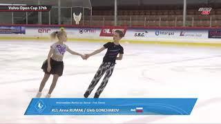 Anna RUMAK / Gleb GONCHAROV Volvo Open Cup 2018 FD