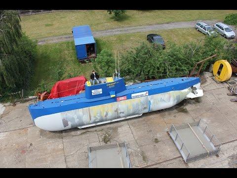 "Amateur built submarine ""Euronaut"" - Interview in German"