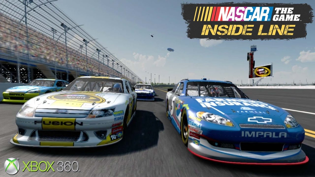 NASCAR The Game: Inside Line – Xbox 360 / Ps3 Gameplay (2012)