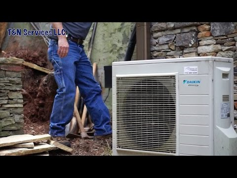 Daikin Ductless Mini Split: Service Call