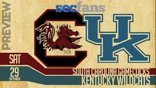 South Carolina vs Kentucky - 2018 Preview & Predictions College Football - Gamecocks vs Wildcats