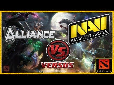 видео: alliance vs navi (navi vs alliance) starladder 7 dota 2 (rus) Реванш за #ti3