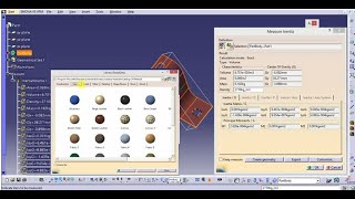 HOW TO ADD MATERIAL IN CATIA V5 AND WEIGHT CALCULATION with density of Steel&aluminium_CAD INDIA