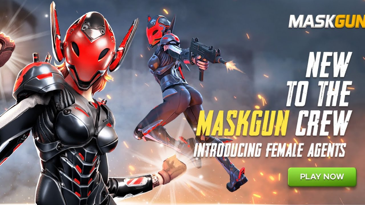 MaskGun Meet our New Female Agents - Voyager