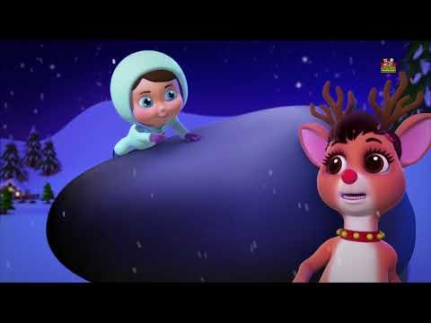 Rudolph das rotnasige Rentier | Weihnachtslied | Weihnachtsmann Rentier | Rudolph Red Nosed Reindee