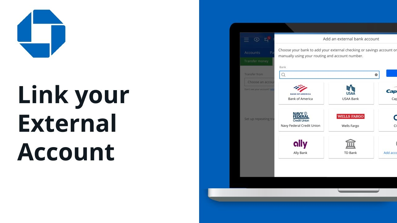 How to Link your External Accounts   Chase Online Banking