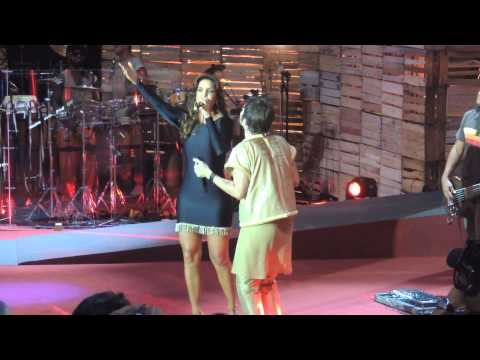 Saulo e Ivete - Gravação do DVD de Saulo - Concha Acústica - 06/04/2013