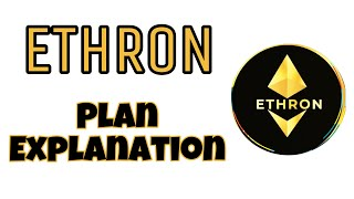 ETHRON Plan | Passive Income Platform | Ethron Matrix Pool and Club | Ethron TRON based Concept