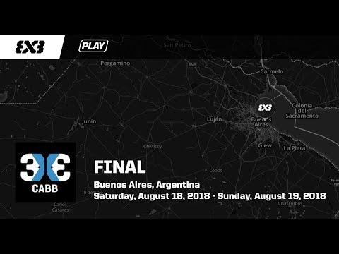 Finales Nacionales. 3 x 3 CABB.