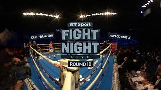 Frampton victorious on ring return | Watch in 360 VR