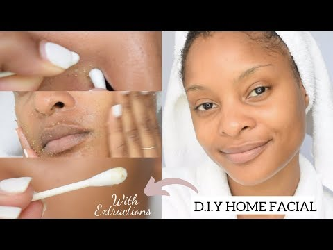 HOW TO: DO A FACIAL AT HOME (Includes Extractions)   KRYSSTOBER 8