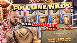 Record win 32.000 €  on 300 Shields Extreme   - Top 5 Big wins in casino slot