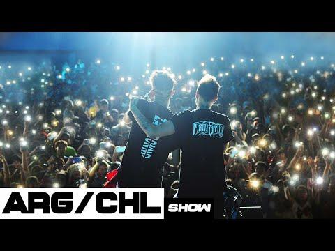 CONCIERTO COMPLETO ZARCORT Y KRONNO ft. TOWN | CHILE Y ARGENTINA | LATINOAMERICA