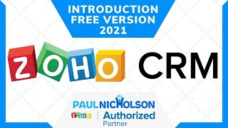 Zoho CRM Free Version 2021 Full Introduction