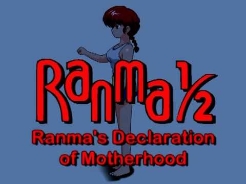 Ranma ½: Ranma's Declaration Of Motherhood - BEHIND THE SCENES XIII