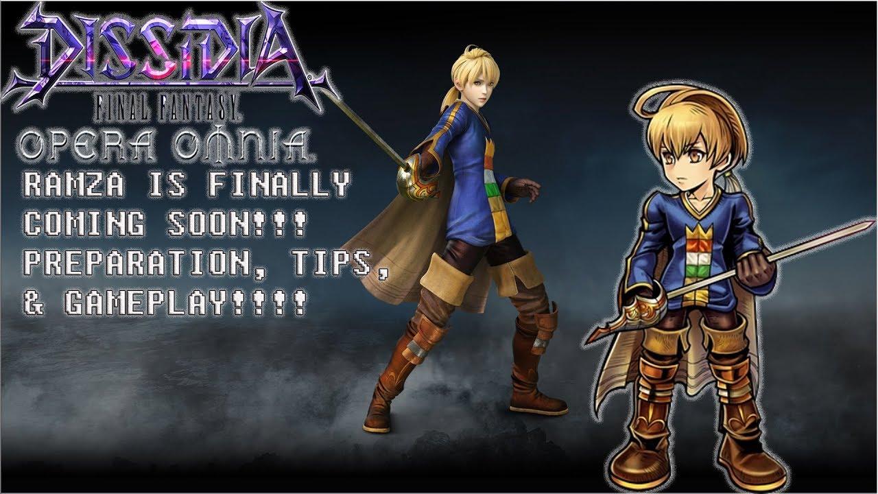 Dissidia Final Fantasy Opera Omnia Tier List By Koragg