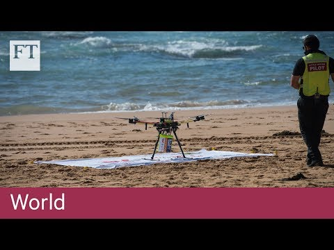 Australia's lifeguards make waves with use of rescue drones