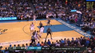 San Antonio Spurs at Oklahoma City Thunder - March 31, 2017