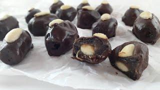 Cokoladne urme sa bademima