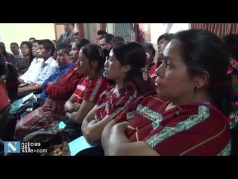 inauguran curso para poder ser interprete del idioma mam en san marcos